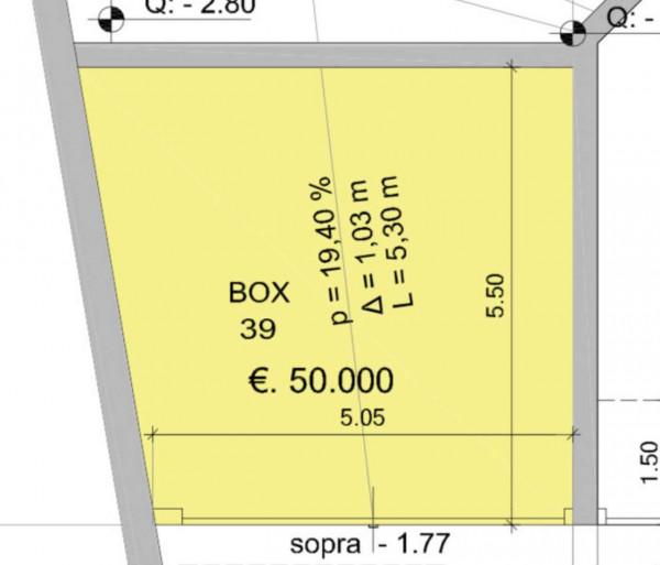 Immobile in vendita a Milano, Dergano, Con giardino, 30 mq - Foto 5