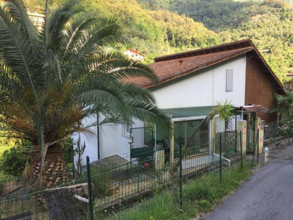 Villa in vendita a Rapallo, Con giardino, 210 mq
