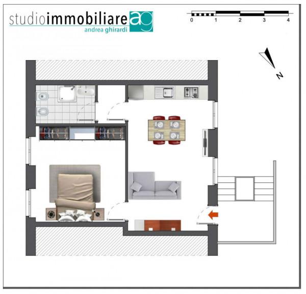 Appartamento in vendita a Genova, Sestri Ponente, 50 mq - Foto 2