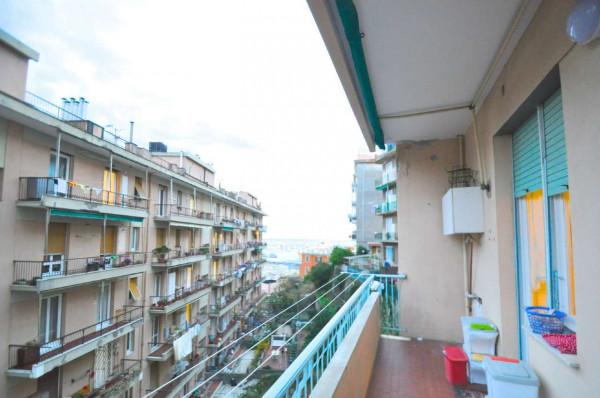 Appartamento in vendita a Genova, Sestri Ponente, 115 mq - Foto 10