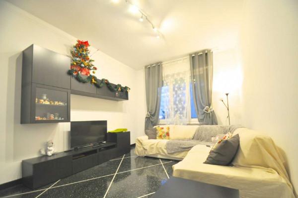 Appartamento in vendita a Genova, Sestri Ponente, 115 mq