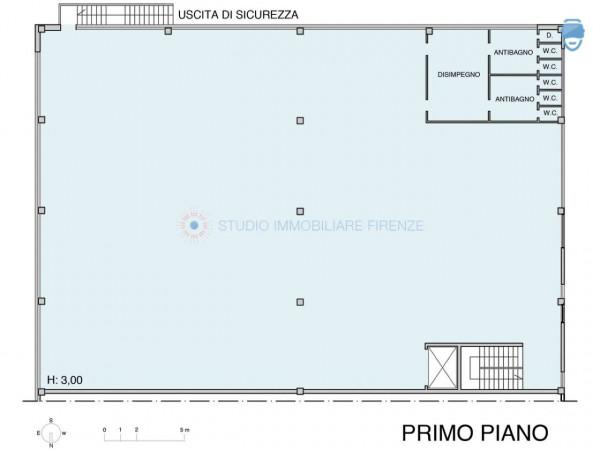 Capannone in affitto a Firenze, 810 mq - Foto 3