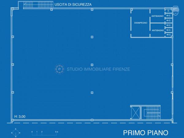 Capannone in affitto a Firenze, 810 mq - Foto 16