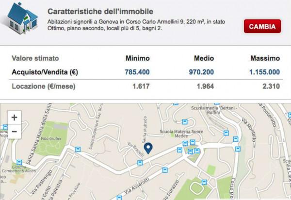 Appartamento in vendita a Genova, Manin, Con giardino, 220 mq - Foto 2