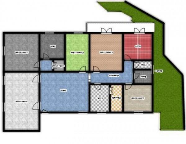 Appartamento in vendita a Genova, Manin, Con giardino, 220 mq - Foto 4
