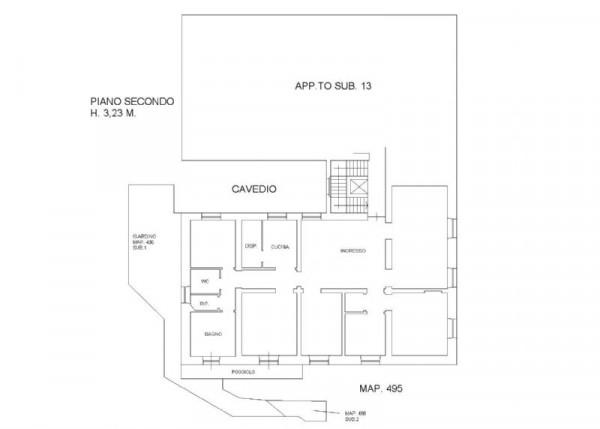 Appartamento in vendita a Genova, Manin, Con giardino, 220 mq - Foto 3