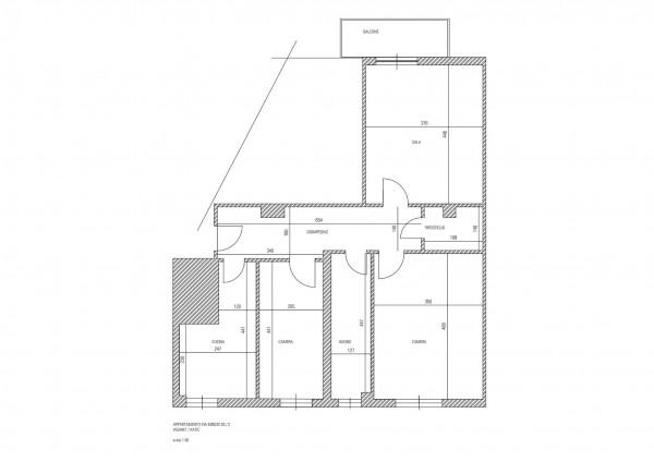 Appartamento in vendita a Milano, Brenta, Arredato, con giardino, 87 mq - Foto 2