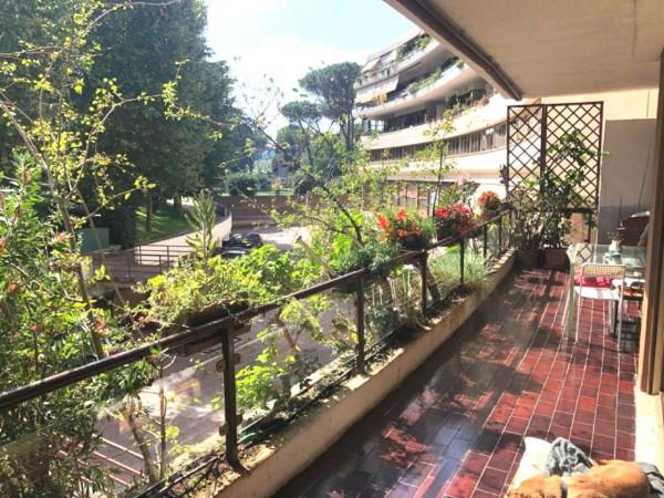 Appartamento in vendita a Roma, Grotta Perfetta Tintoretto, Con giardino, 140 mq