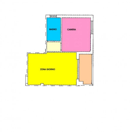 Appartamento in vendita a Crespiatica, Residenziale, Con giardino, 55 mq - Foto 2