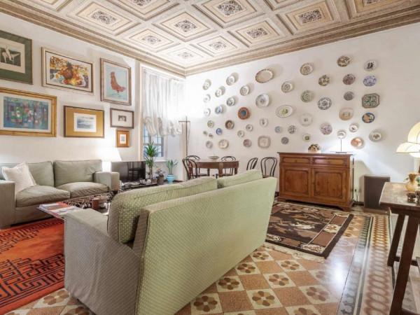 Appartamento in vendita a Roma, Piazza San Cosimato, Con giardino, 160 mq