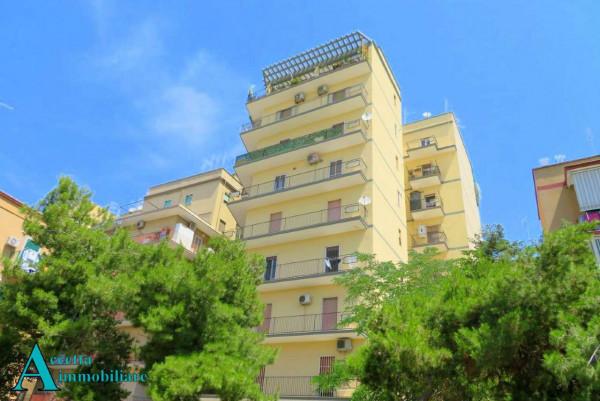 Appartamento in vendita a Taranto, Rione Italia, Montegranaro, 111 mq - Foto 19