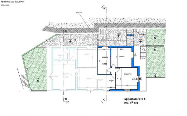 Appartamento in vendita a Leivi, Prima Collina, Con giardino, 69 mq - Foto 2