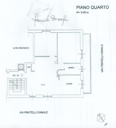 Appartamento in vendita a Genova, Adiacenze Monoblocco San Martino, 90 mq - Foto 2