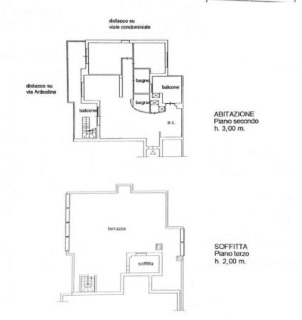 Appartamento in vendita a Roma, Ardeatina, Con giardino, 120 mq - Foto 21