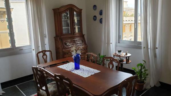 Appartamento in vendita a Genova, Adiacenze Piazza Martinez, Con giardino, 85 mq