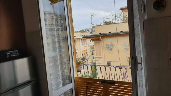 Appartamento in vendita a Genova, Adiacenze Piazza Martinez, Con giardino, 85 mq - Foto 9