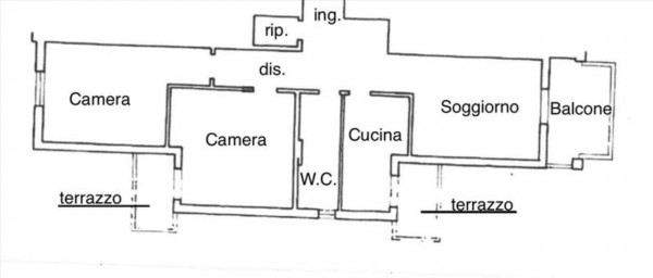 Appartamento in vendita a Castelnuovo Berardenga, Arredato, 92 mq - Foto 4