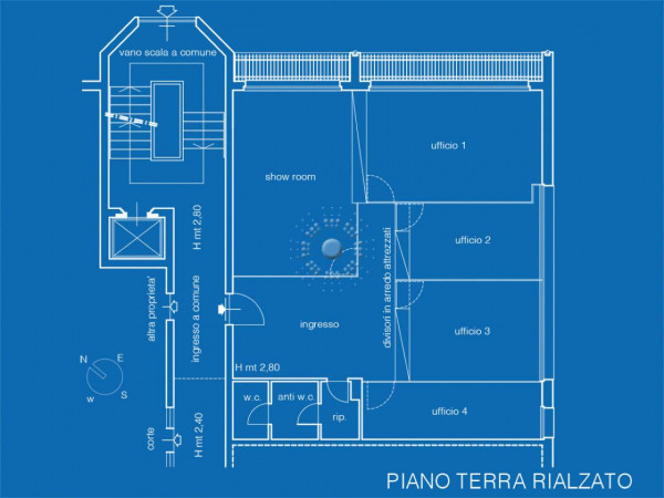 Ufficio in affitto a Firenze, 130 mq - Foto 21