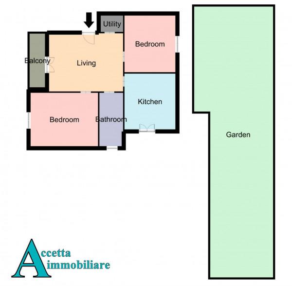 Appartamento in vendita a Taranto, San Vito, Con giardino, 96 mq - Foto 2