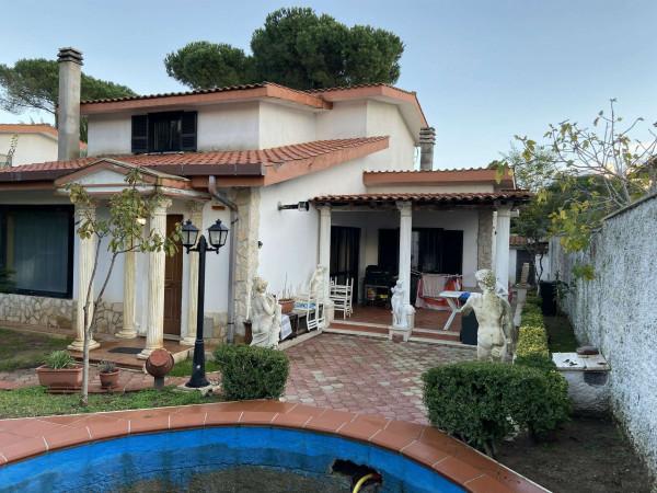 Villa in vendita a Ardea, Colle Romito, Con giardino, 260 mq
