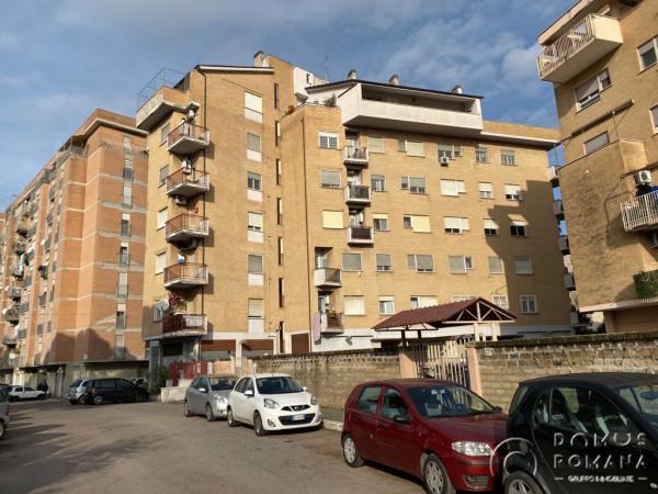 Appartamento in vendita a Roma, Magliana, 66 mq