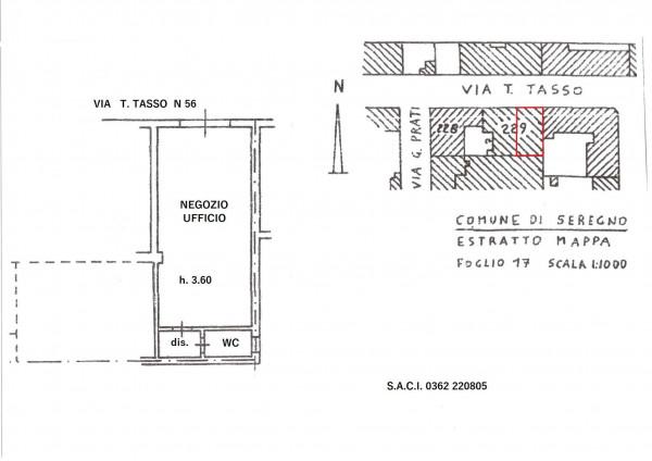Negozio in vendita a Seregno, San Rocco, 52 mq - Foto 2