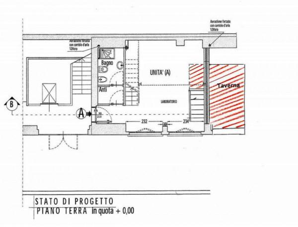 Appartamento in vendita a Milano, Crescenzago, Con giardino, 45 mq - Foto 11