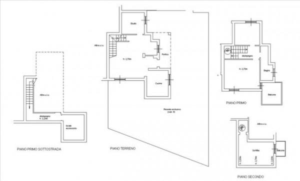 Appartamento in vendita a Murlo, Con giardino, 154 mq - Foto 15