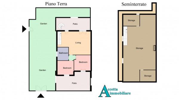 Villa in vendita a Taranto, San Vito, Con giardino, 133 mq - Foto 2