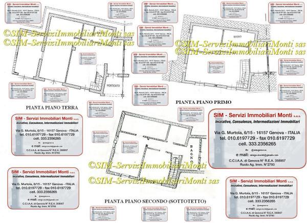 Villetta a schiera in vendita a Ceranesi, Gaiazza, Con giardino, 200 mq - Foto 2