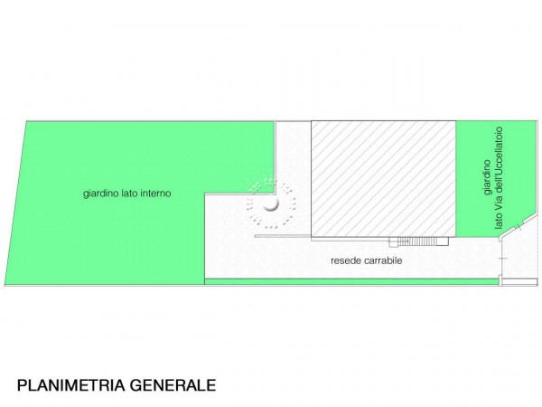 Villa in vendita a Vaglia, Con giardino, 362 mq - Foto 2