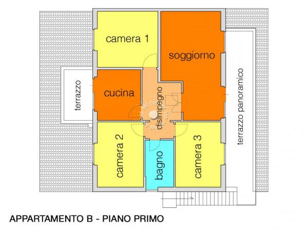 Villa in vendita a Vaglia, Con giardino, 362 mq - Foto 3