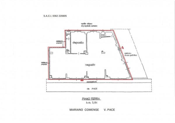 Negozio in vendita a Mariano Comense, Centro, 220 mq - Foto 2