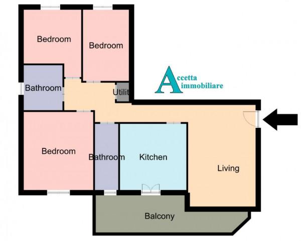 Appartamento in vendita a Leporano, 109 mq - Foto 2