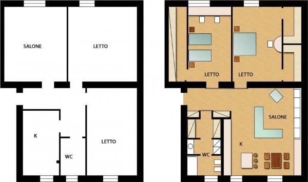 Appartamento in vendita a Sant'Anastasia, Centrale, Con giardino, 85 mq - Foto 3