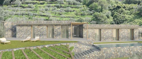 Villa in vendita a Zoagli, Zoagli, Con giardino, 150 mq