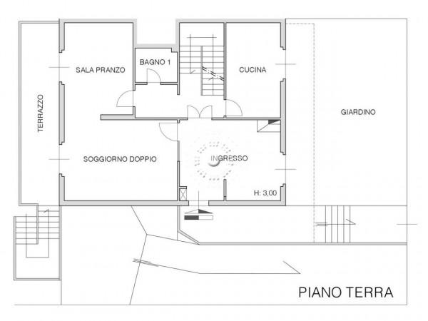Villa in vendita a Firenze, Con giardino, 302 mq - Foto 6
