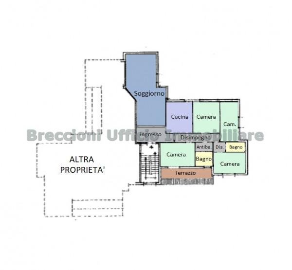 Appartamento in vendita a Trevi, Matigge, 130 mq - Foto 24