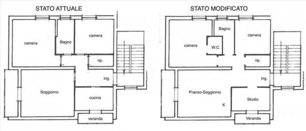 Appartamento in vendita a Siena, 102 mq - Foto 12