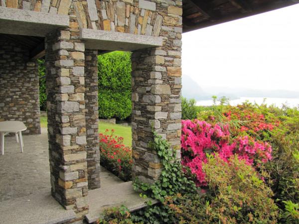 Villa in vendita a Ghiffa, Lago Maggiore, Con giardino, 400 mq - Foto 8