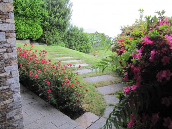 Villa in vendita a Ghiffa, Lago Maggiore, Con giardino, 400 mq - Foto 3