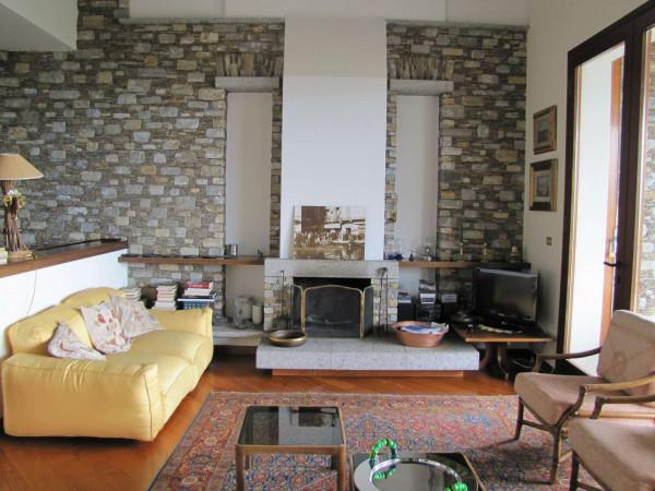 Villa in vendita a Ghiffa, Lago Maggiore, Con giardino, 400 mq - Foto 16