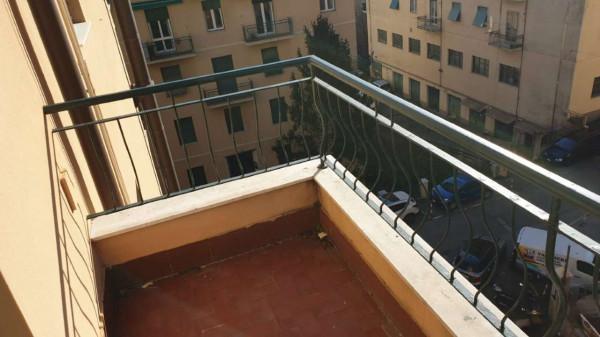 Appartamento in vendita a Genova, Adiacenze Via Lagustena, 110 mq - Foto 5