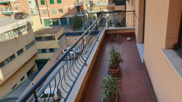 Appartamento in vendita a Genova, Adiacenze Via Lagustena, 110 mq - Foto 9