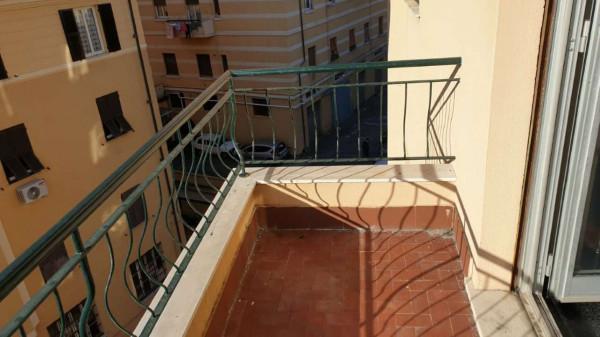 Appartamento in vendita a Genova, Adiacenze Via Lagustena, 110 mq - Foto 6