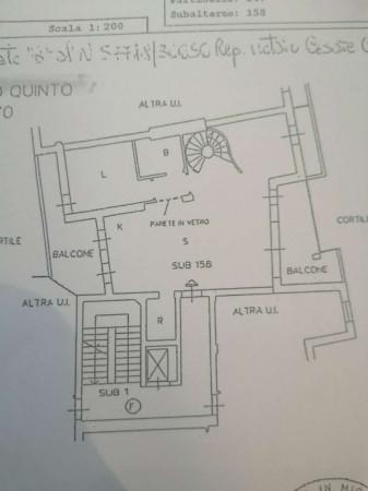 Appartamento in vendita a Milano, Santa Giulia, Con giardino, 230 mq - Foto 5