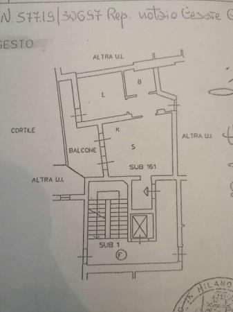 Appartamento in vendita a Milano, Santa Giulia, Con giardino, 230 mq - Foto 4