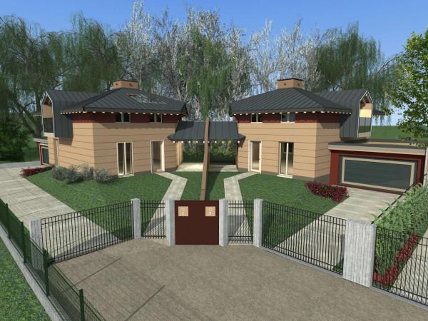 Villa in vendita a Gavirate, Residenziale, Con giardino, 180 mq