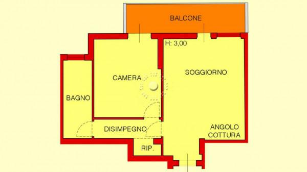 Appartamento in vendita a Firenze, 58 mq