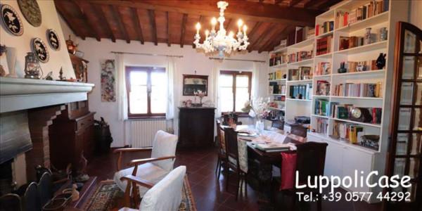 Villa in vendita a Castelnuovo Berardenga, Arredato, con giardino, 222 mq - Foto 12